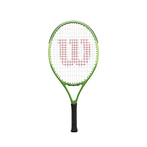 Wilson Blade Feel 23 Encordado: Sí 240G Raquetas De Tenis Raqueta De Niños Verde - Gris 0