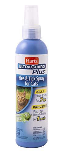 Hartz UltraGuard Plus Cat Flea & Tick Spray, 8 oz