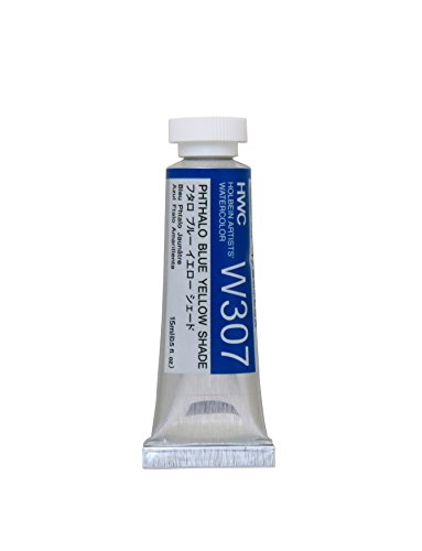 Holbein Artist's Watercolor 15ml Tube (Phthalo Blue Yellow Shade) W307