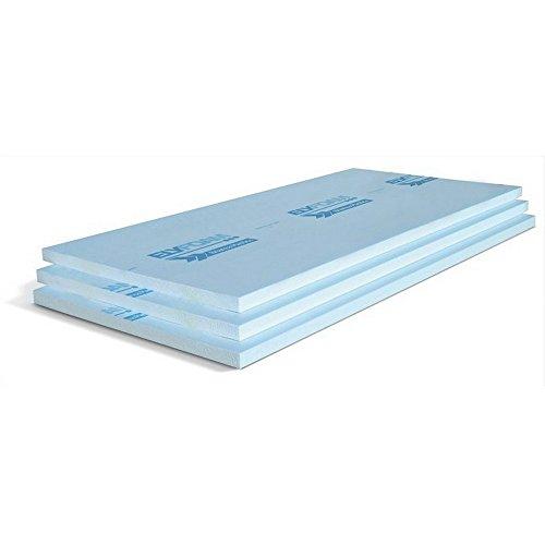 Pannello in polistirene estruso liscio battentato 125x60cm Elyfoam Brianza Plastica - Spessore: 3 cm