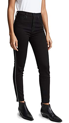 Hudson Jeans Women's Holly HIGH Rise Ankle Skinny 5 Pocket Jean, Black LUX, 26