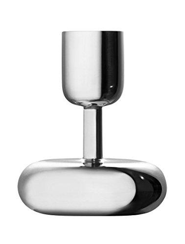 Iittala Nappula Kerzenständer - 10,7 cm - Silber