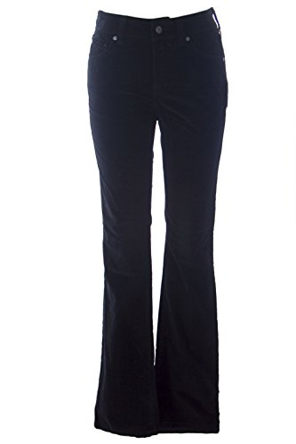 Miraclebody by Miraclesuit Women's Samantha Boot Cut Velvet Jeans Sz 2 Black