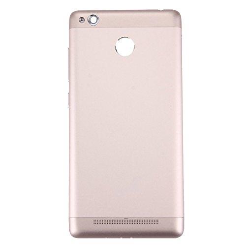 BOYYHII Cambio de componentes La batería Cubierta Trasera for Xiaomi redmi 3s (Oro) ATCYE (Color : Gold)
