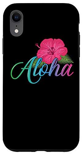 iPhone XR Aloha Hawaii from the island - Hibiscus Flower Aloha Ohana Case
