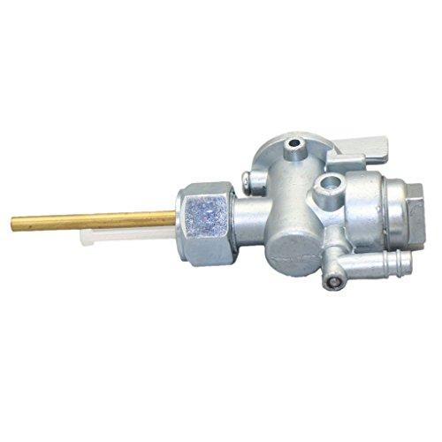 gazechimp Interruptor de Válvula de Purga de Combustible de Motocicleta para KD80 / KD100 / KE100 / KM100