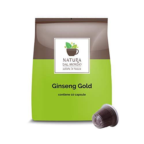 100 Nespresso-kompatible Kapseln - Ginseng Gold - Caffè dal Mondo