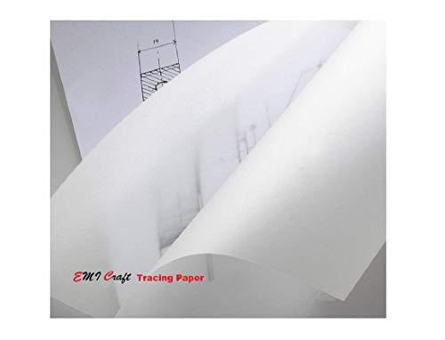 EMI Craft Tracing Paper Roll - 40/45gsm - 0.33m x 20m
