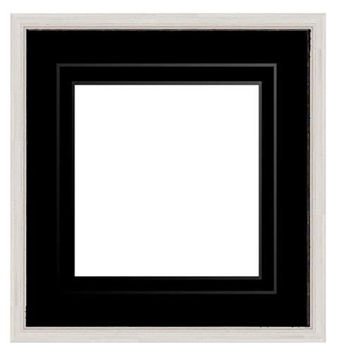 Framecraft fotolijst, hout, potlood, zilverkleurig