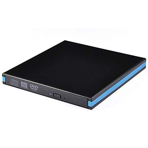 Ashey External DVD Drive Optical Drive USB 2.0 ROM Player Burner Burner for Portable PC