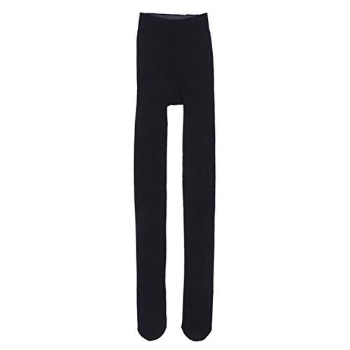 FENICAL Invierno Mujer Terciopelo Elástico Leggings Pantalones Medias Gruesas Pantimedias (Gris Oscuro)