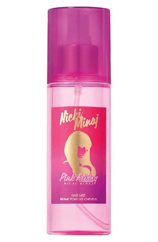 スイ無線セメントPink Friday (ピンク フライデー) 5.0 oz (150ml) Hair Mist by Nicki Minaj for Women