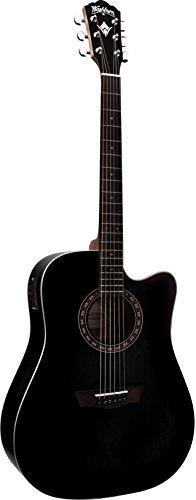 Washburn WD7SCEBM Westerngitarre schwarz