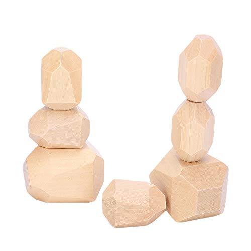 Juguete Educativo, Juego De Apilamiento Habilidad De Ejercicio Juguete Educativo Para Niños Para Ocio Y Entretenimiento(10 colores de loto originales)