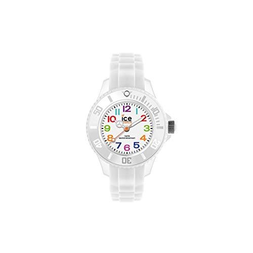 Ice-Watch Ice Mini White, Orologio Bianco da Bambini, Unisex con Cinturino...