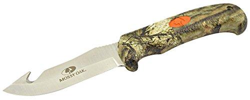 Mossy Oak Pro Hunter Gut Hook Knife, Break-Up Country
