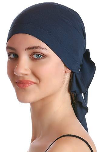 Deresina Unisex Bandana Fur Haarverlust (Denim)