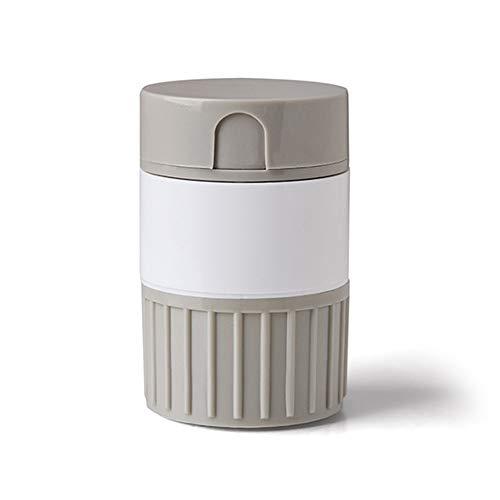 aoory Pill Cutter Case Pill Cutter Divider Pill Box Medicine Cutter Grinding Box
