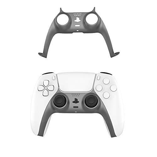 how to refund a game on ps4 and ps5 PS5 Controller Decoration Strip,EJGAME DIY PS5 Controller Replacement Shell Color Replacement Decoration Accessories for PS5 Controller Panel(Gray)