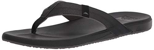 Reef Men's Cushion Phantom Sandals, Black, 12 M US