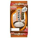 テーブルマーク たきたてご飯 新潟県産こしひかり (分割) 4食(150g×2食×2個)×8個入×(2ケース)