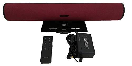 日立マクセル ウォークマン対応アクティブスピーカー レッド MXSP-1300WM.RE