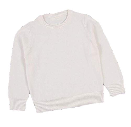 Guy Eugendssg Autumn Baby Boys Girls Turtleneck Sweaters Sweater Kids Sweaters For Winter Knitted Sweaters White 24M