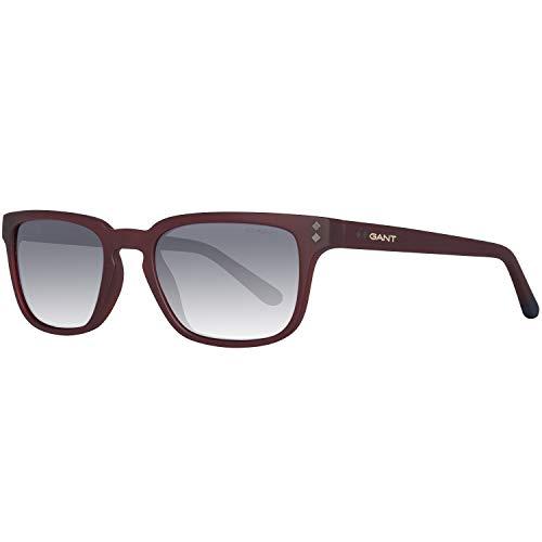GANT GA7080 5270A Gant Sonnenbrille Ga7080 70A 52 Rechteckig Sonnenbrille 52, Rot