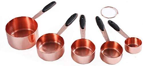 JKXWX Juego de Tazas medidoras, Tazas de azúcar de café de cucharadita, Tazas medidoras para Hornear Pasteles, Utensilios de Cocina, Utensilios de Cocina JKXWX-12.31