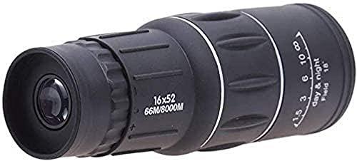 PAKUES-QO Fernglas Spektral, Teleskope Monokular Brille Low Light Nightkids Brille-16X52 Prisma Großer Durchmesser Superweit Winkel wasserdichte Teleskope, Birtay Geschenk, Jungen Geschenk