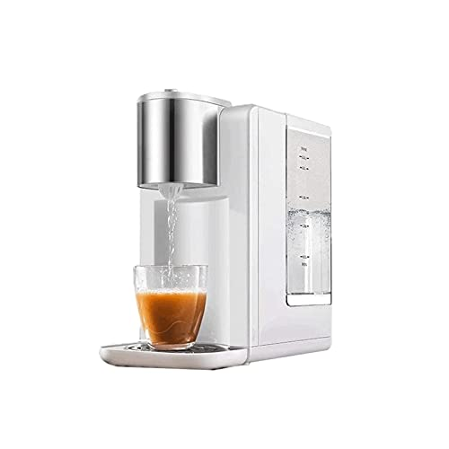 KJLY 2.2L Dispensadores de agua caliente, hervidor eléctrico de 2200W de hervidor rápido, máquinas de té de café de oficina, protección de hervir seco, apagado automático