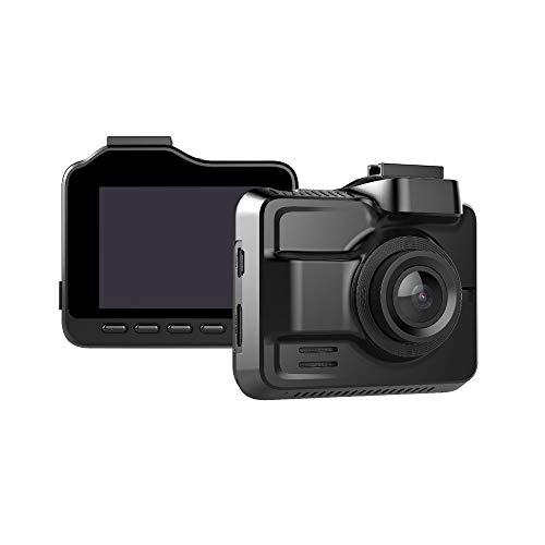 Dash CAM para Coche, Cámara Grabadora WiFi GPS Integrado Sensor G WDR 2.4 LCD Lente Gran Angular De 150 Grados Grabación En Bucle Detección De Movimiento Monitor De Estacionamiento