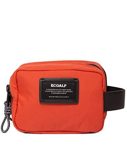 Neceser Ecoalf Big Double Zipper Vanity Case Naranja (Burned Orange)