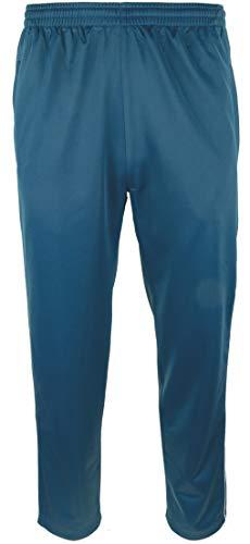 Paris Herren Jogginghose mit Knopfleiste - Stahlblau, Groesse: XXXL
