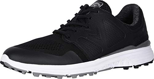 Callaway mens Solana Xt Golf Shoe, Black, 10.5 US