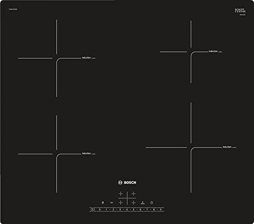 Bosch Serie 6 PUE611FB1E piano cottura Nero Incasso Piano cottura a induzione Zoneless