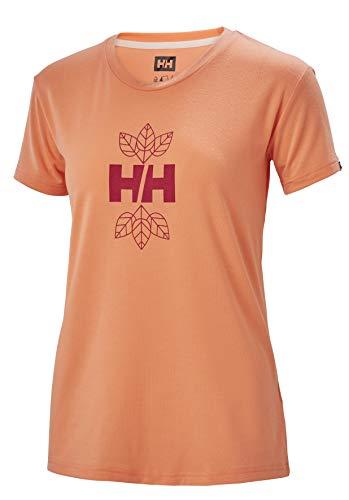 Helly Hansen Skog Graphic T-Shirt pour Femme S Melon