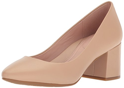 Taryn Rose Women's Rochelle Dress Calf Pump, Sand, 9.5 M M US