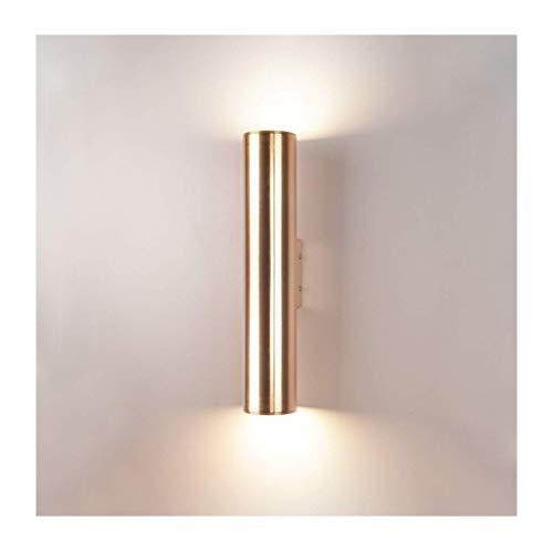 LYLSXY Lámparas de Pared, Luz de Pared Moderna Aluminio Led Sala de Estar Dormitorio Corredor Fondo Pared Lámpara de Pared Decoración de Pared Luces,5W / 8 * 30Cm