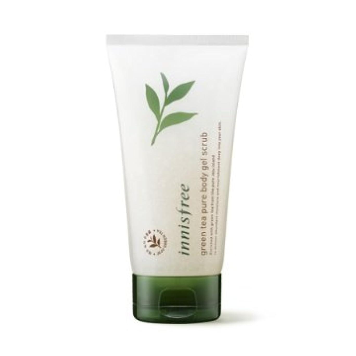 サーマル含める算術【イニスフリー】Innisfree green tea pure body gel scrub - 150ml (韓国直送品) (SHOPPINGINSTAGRAM)