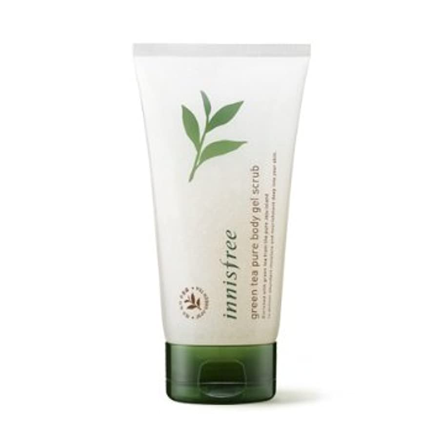 化合物気付く半島【イニスフリー】Innisfree green tea pure body gel scrub - 150ml (韓国直送品) (SHOPPINGINSTAGRAM)