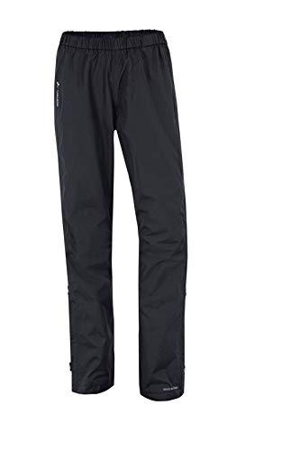 VAUDE Damen Hose Fluid Full-Zip Pants S/S, black, 42, 053920100420