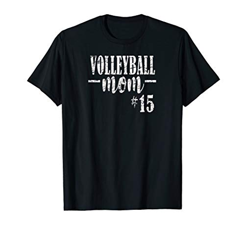 Volleyball Mom Shirt Custom with Childs Jersey Number