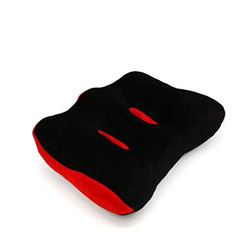 HMRWYL Respirant mémoire Mousse Belle Fesses Coussin de siège, Soft Office étudiant Chaise Pads Confort décompression correctif