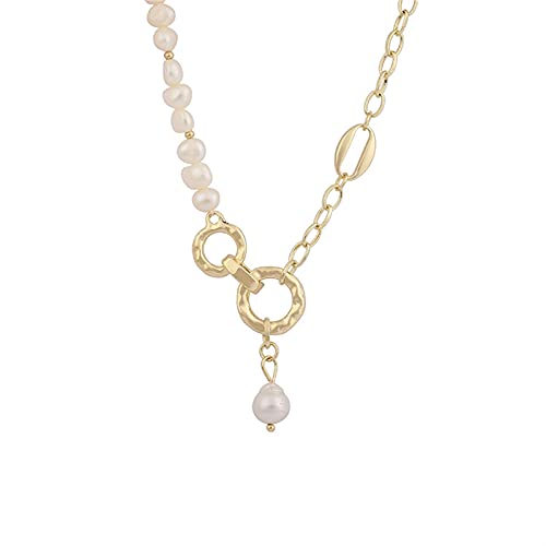 Collar De Cadena Colgante Barroco Colgante Barroco Collar De Cadena De Clavícula Femenina Collar De Cadena De Clavícula Yixianjiacheng (Color : 1)