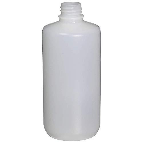 Nalgene Récipient rond à ouverture étroite en polyéthylène haute densité, 473 ml, multicolore, taille unique (340631)