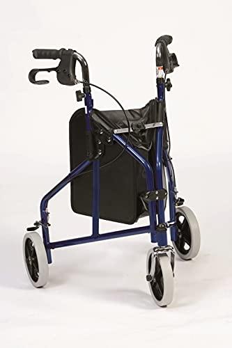 Rollator de 3 ruedas Delta aluminio ✅