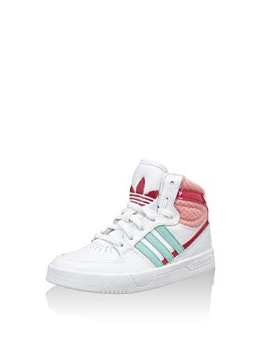 adidas Sneaker Alta Court Attitude El I Bianco/Rosso EU 27 (UK 9.5 C)
