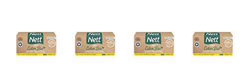 Nett Tampons Digitaux Normal Boite Bio 16 Pièces - Lot de 4