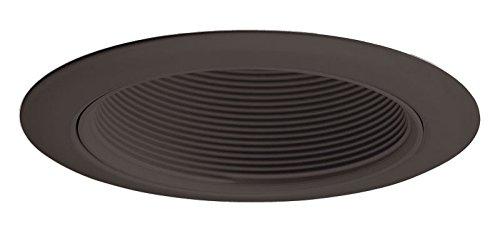 Juno Lighting 14 BBL Incandescent Recessed Baffle Trim, 4-Inch, Black Baffle with Black Trim